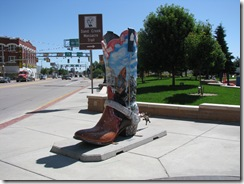 1123 Big Boot at Cheyenne Depot Plaza Cheyenne WY