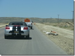 1392 Road Construction between Rock River & Medicine Bow WY