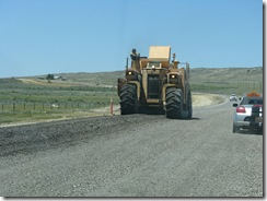 1399 Road Construction between Rock River & Medicine Bow WY