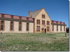 1350 Wyoming Territorial Park Prison that held Butch Cassidy Laramie WY