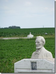 0425 1924 Moss Bust of Lincoln Scranton IA