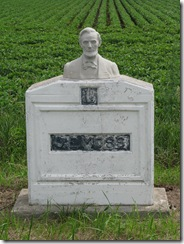 0422 1924 Moss Bust of Lincoln Scranton IA