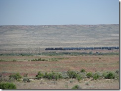 1557 Train on Lincoln Highway west of Bryan WY