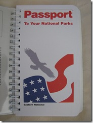 3343 National Parks Passport Book