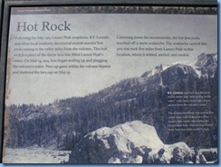 1667 Hot Rock Lassen Volcanic National Park CA