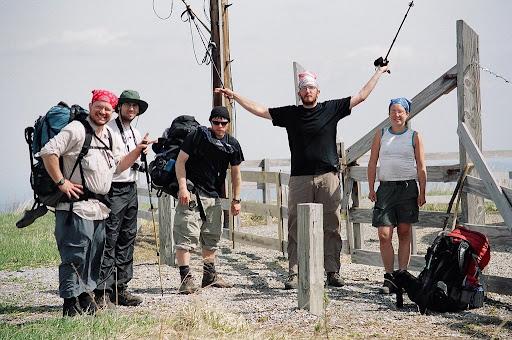Thruhiker auf dem Appalachian Trail