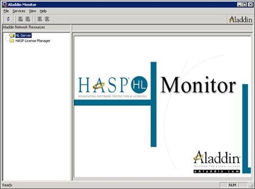 Hasp hl license manager