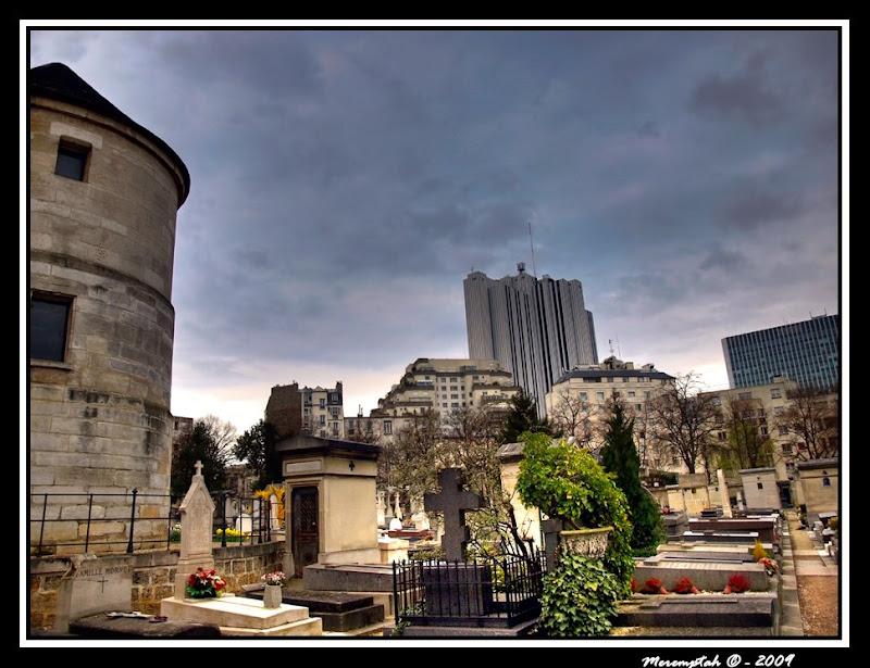 Photomatix Cimetière Montparnasse Paris