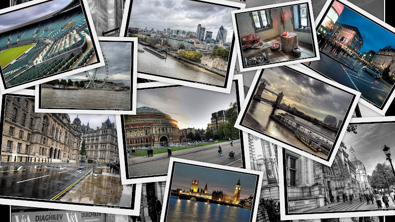 Londres London City of lights