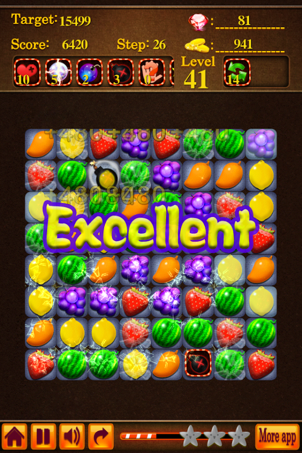 Fruit Saga - screenshot