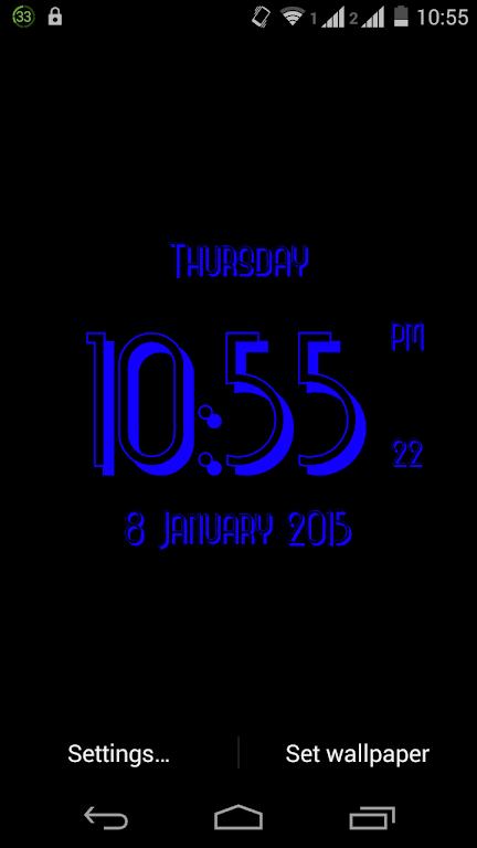 Unduh 3d Clock Live Wallpaper Apk Versi Terbaru 15 Untuk