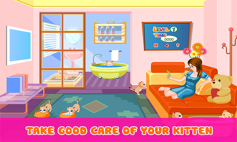 Pretty Cat – Cat game- screenshot