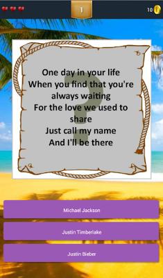 Kuis Tebak Nama Penyanyi - screenshot