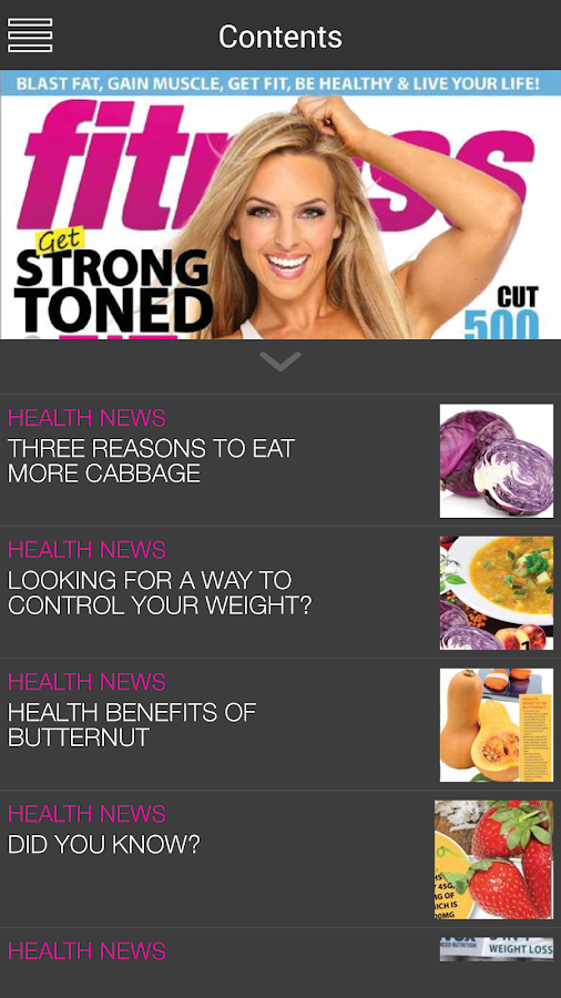 Fitness Magazine SA- screenshot