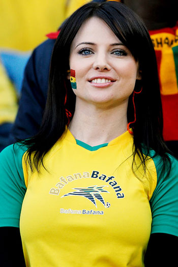 Photos Profiles: World Cup 2010: Most Beautiful Girl Fans