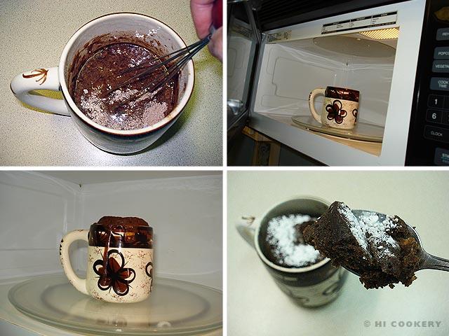 Chocolate Mug Cake Hi Cookery