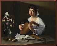 Caravaggio. Apolo tocando el laúd