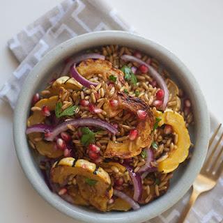 Farro Salad w/Delicata Salad & Pomegranate