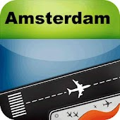 Amsterdam Airport+FlightTrackr