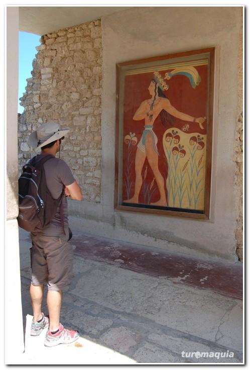 arte cretense em Cnossos