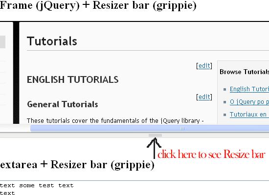 TextArea-Resizer