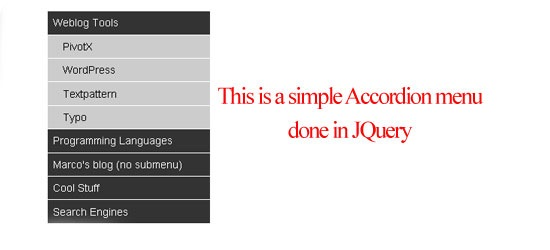 simple-Accordion-menu-JQuer