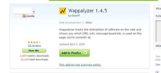 Wappalyzer-1.4.5