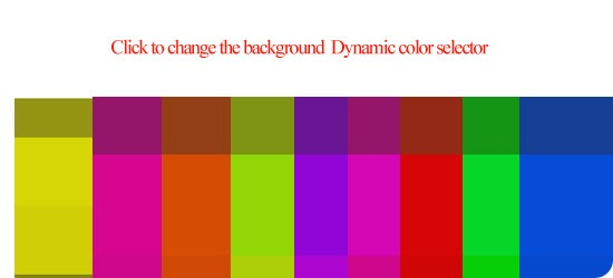 Dynamic-color-selector
