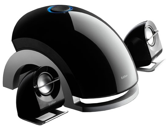 Edifier E1100  Un son profilé et futuriste Edifier E1100  A futuristic