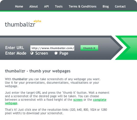 thumbalizr