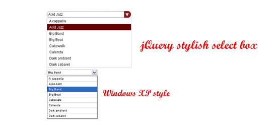jQuery-stylish-select-box