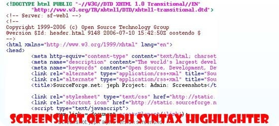 jEph-Syntax-Highlighter