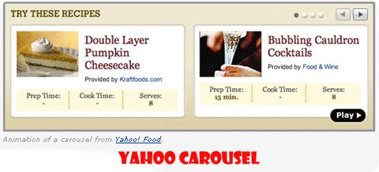 Yahoo-Carousel