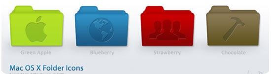 Mac-OS-x-Style-Folders