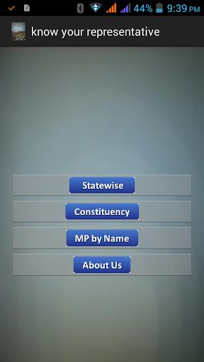Know Your Representative