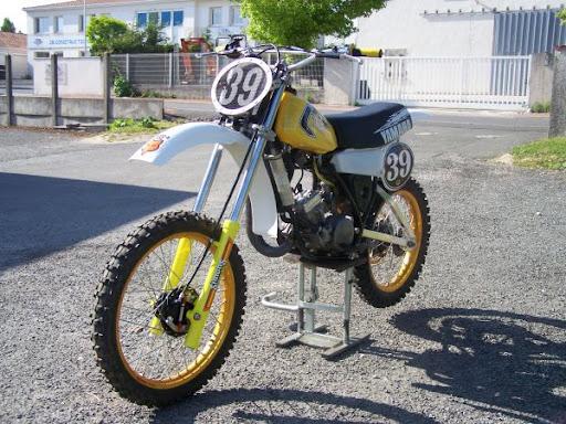 1981 yz 125 h old school moto motocross forums message boards vital mx. Black Bedroom Furniture Sets. Home Design Ideas