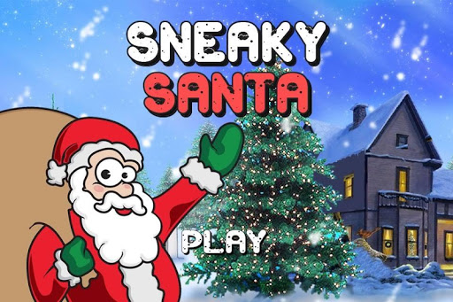 Sneaky Santa Saves Christmas