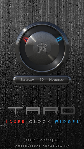 TARO Laser Clock Widget