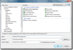 Manjuke's Blog: Deploying windows applications using