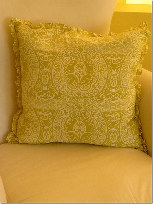 Country Living Collection green pillow