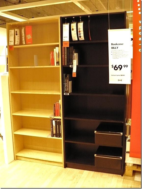 Billy bookcase by Ikea