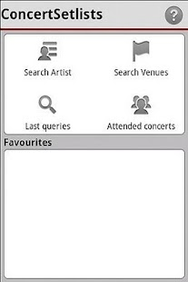 Concert Setlists - screenshot thumbnail