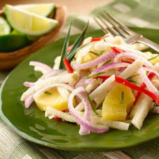 Mexican Jicama Salad.