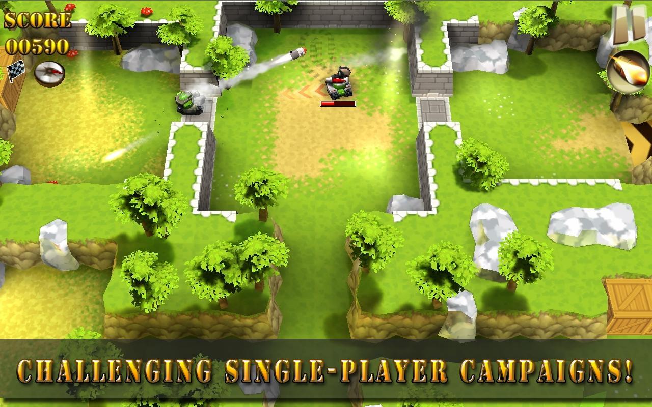 Tank Riders screenshot #2