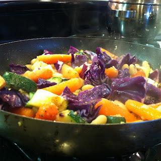 Cabbage Zucchini Carrots Recipes.
