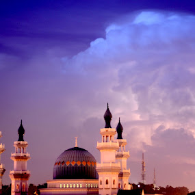 Indian Mosque by Adi Adlee - Landscapes Cloud Formations
