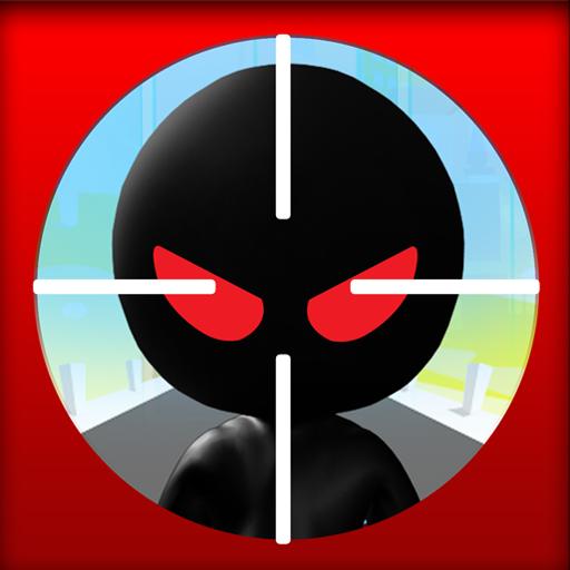 Stickman Commando Attack LOGO-APP點子