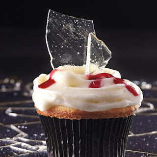 """Broken Glass"" Cupcakes"