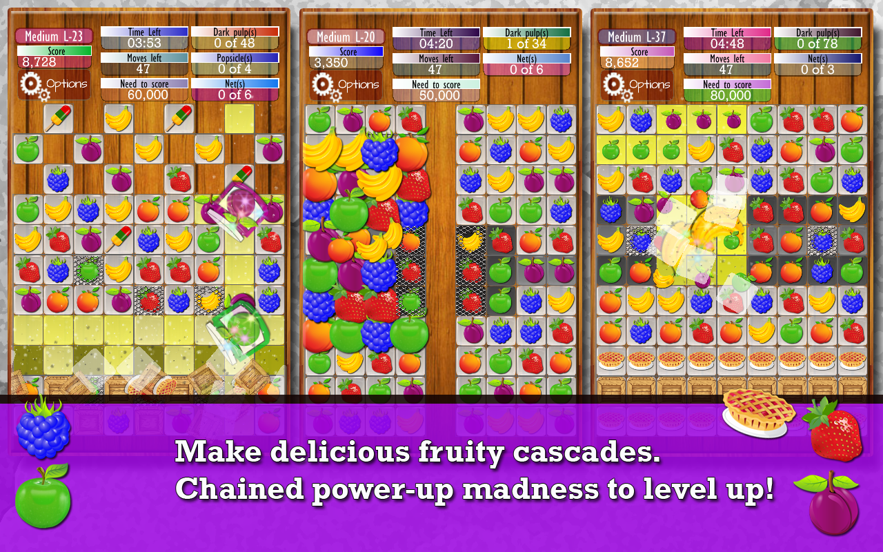 Fruit Drops 2 - Match 3 puzzle- screenshot