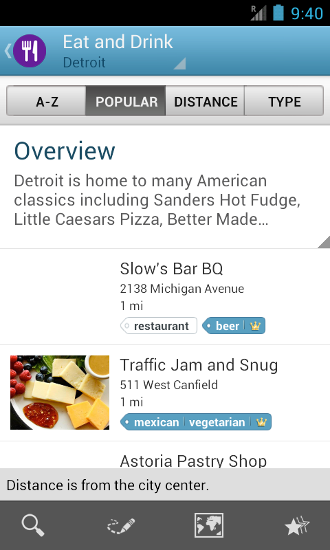 Michigan Guide by Triposo- screenshot